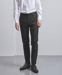 UADB 黑色 輕薄羊毛素材 無摺西裝褲