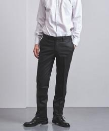 <UNITED ARROWS> 暗色直條紋西裝褲