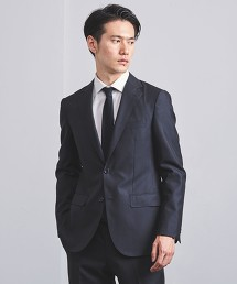 <UNITED ARROWS> 細直條紋 舒適衣裝外套