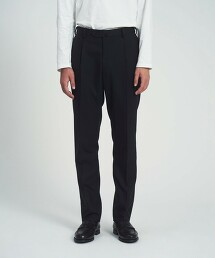 <UNITED ARROWS> 薩克森毛呢 SIDE EXTEND 西裝褲 R-MODEL