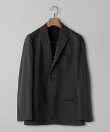 < UNITED ARROWS > 窗格紋 2B 西裝外套