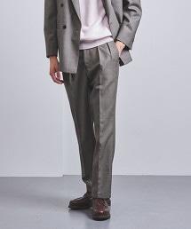 <UNITED ARROWS> 鯊魚皮紋 2摺 長褲