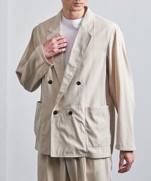 <UNITED ARROWS> 別丁布料 巴厘纱 4B 雙排釦西裝外套