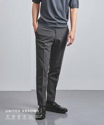 <UNITED ARROWS COZY> 機能 輕盈 聚酯纖維 塔夫塔  無摺西裝褲