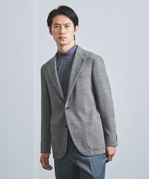 <SOVEREIGN> 花式紗 斜紋織 無結構 西裝外套