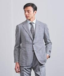 <SOVEREIGN> 細格紋 3B 西裝外套