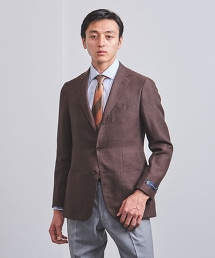 <UNITED ARROWS> 棕色 3B 西裝外套