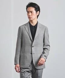 <SOVEREIGN> 葛倫格紋 輕鬆版型 S3B 休閒西裝外套