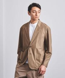 < UNITED ARROWS > 斜紋織 棉質 西裝外套