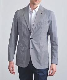 <SOVEREIGN> 直條紋印花 3B 柔軟素材 西裝外套