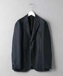<UNITED ARROWS>  紗羅織物 2B 西裝外套