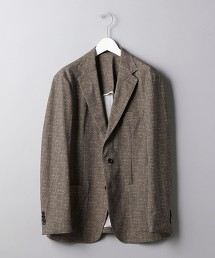 <SOVEREIGN> 細格紋 3B SOFT 西裝外套 日本製