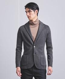 <LARDINI> 素面針織西裝外套