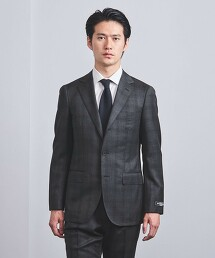 <SOVEREIGN> 花式格紋 舒適剪裁 S3B 輕量成套西裝