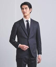 <UNITED ARROWS> 塔斯馬尼亞 細條紋 3B 成套西裝 日本製
