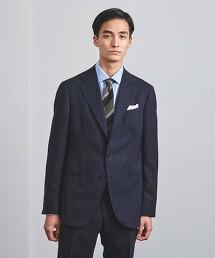 <UNITED ARROWS> 細條紋 3釦 成套西裝 S-MODEL 日本製