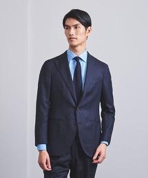 <CARUSO> 深藍 緹花 3B 成套西裝