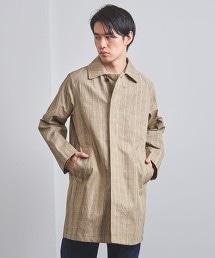 ◇UAHS 格紋巴爾瑪肯大衣