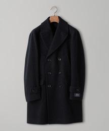 UADB 羊毛海軍雙排釦大衣