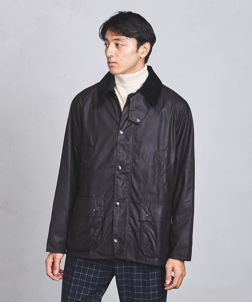 【特別訂製商品】<Barbour> BEDALE 經典油布外套
