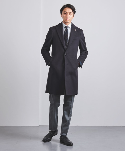 <LARDINI> 混色  查斯特大衣