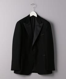<UNITED ARROWS> 黑色 劍領 1B 單釦 禮服西裝外套 日本製