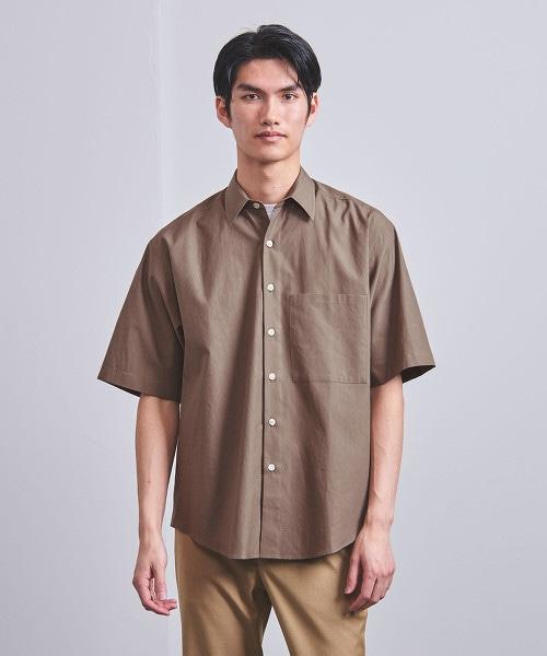 <AURALEE> 綾織寬版襯衫■■■
