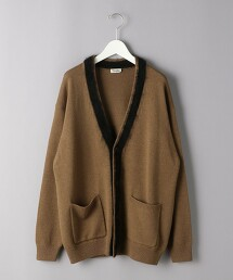 <Camoshita UNITED ARROWS> 配色線條 對襟外套