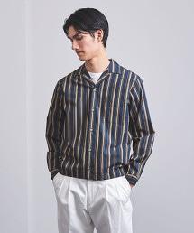 <Camoshita UNITED ARROWS>複合直條紋 襯衫