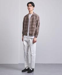 <Camoshita UNITED ARROWS>棉質格紋襯衫
