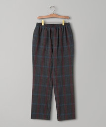 <Camoshita UNITED ARROWS> 馬德拉斯格紋 長褲 OUTLET商品