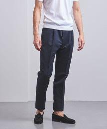 <Camoshita UNITED ARROWS>棉混縲縈 錐形褲