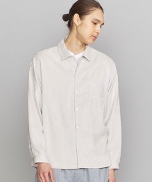 BY 仿麂皮 標準領方形襯衫