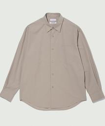 BY 丹後 府綢 寬版 錐形襯衫