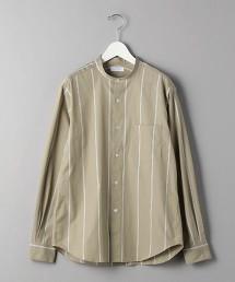 BY 70/2 府綢 直條紋 立領襯衫