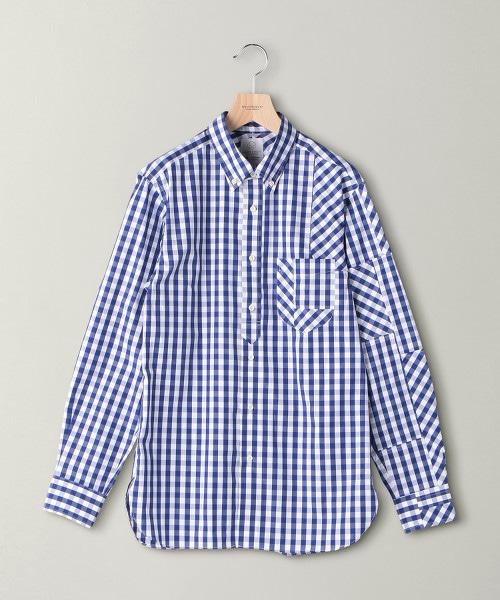 【特別訂製】 <jipijapa>GINGAM CRAZY/襯衫