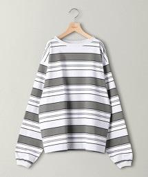 BY 橫條紋長袖上衣 -MADE IN JAPAN-