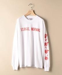 <VIRGIL NORMAL> ROSES L/TEE/T恤