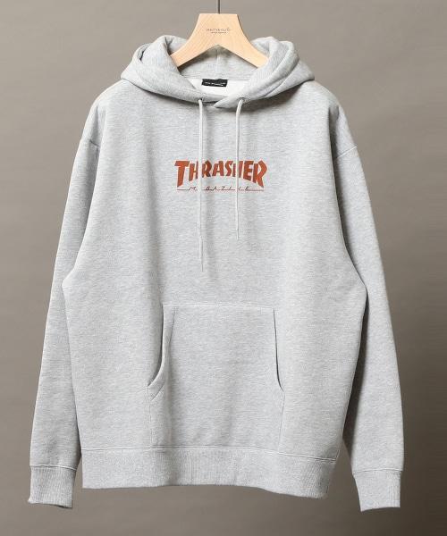 【特別訂製商品】 <THRASHER> SWEAT PARKA/連帽T恤