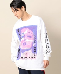 <F-LAGSTUF-F> PAINTER LONG SLEEVE T-shirt/T恤