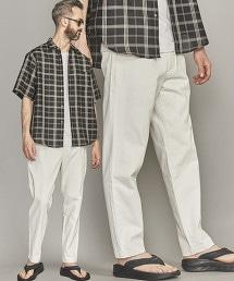 BY 丹寧 寬鬆 錐形剪裁 輕便長褲
