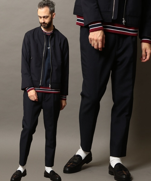 BY TW 1P 寬版錐形褲