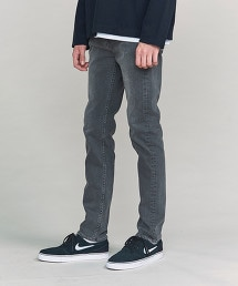 BY 刷白 合身丹寧褲 -MADE IN JAPAN-