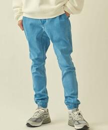 【WEB限定】 <info. BEAUTY&YOUTH> 彈性丹寧 登山褲 縮口褲