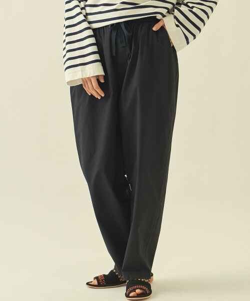 【網路限定】 <info. BEAUTY & YOUTH> 寬版輕便褲