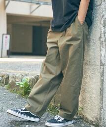 【WEB限定】 <info. BEAUTY&YOUTH> 哈倫輕便褲