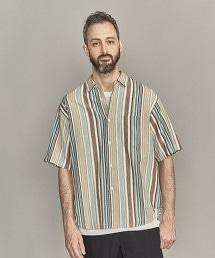 BY 彩色直條紋寬版襯衫