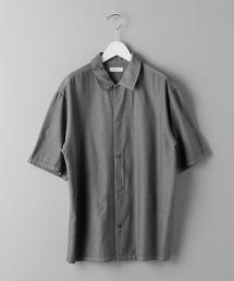 BY 後染 嫘縈棉  古巴領襯衫