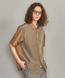 BY 異材質寬版襯衫 -MADE IN JAPAN-