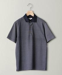 BY COOLMAX 橫條紋POLO衫
